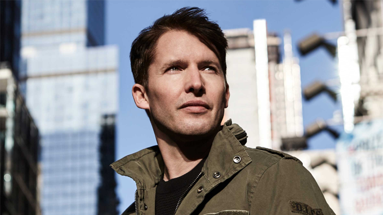 Closed: Win a pair of tickets to James Blunt at Mercedes-Benz Arena