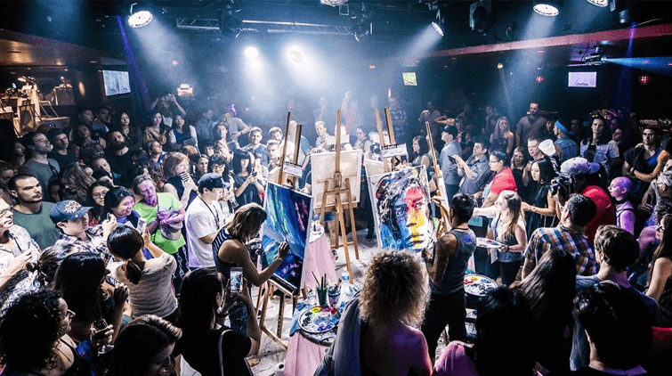 Call for artists: Art Battle Shanghai needs canvas contenders