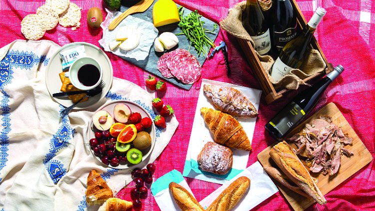 All the snacks you need for a springtime picnic in Shanghai