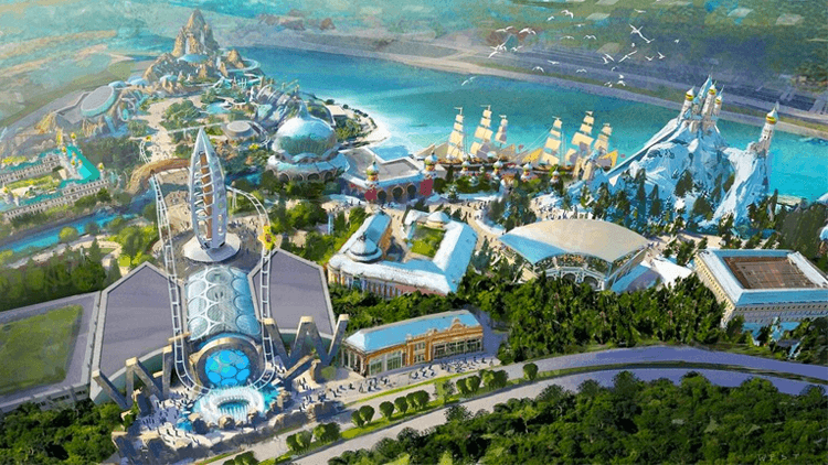 Shanghai Haichang Ocean Park open date announced