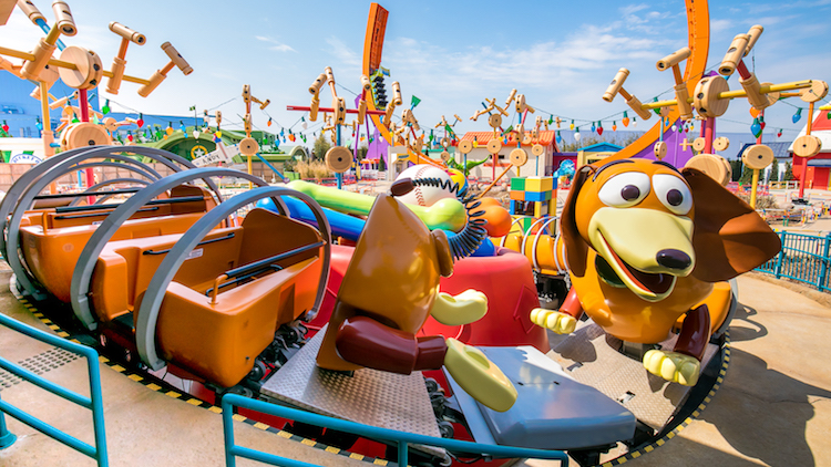 This is what it's like inside the new Toy Story Land at Disneyland Shanghai