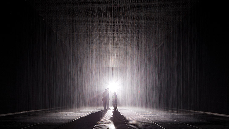 Trippy art installation Rain Room returns to Shanghai