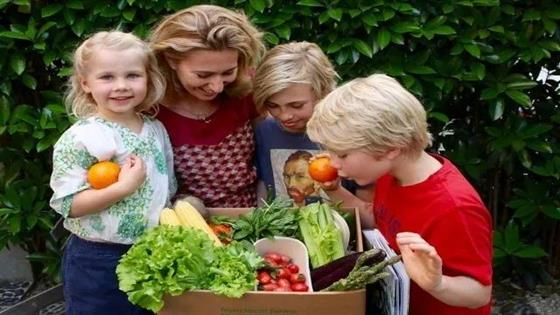 Children's Veggie Box for Children's Day