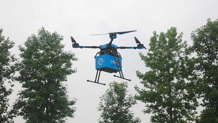 Look to the skies! Eleme launches food delivery drones in Shanghai
