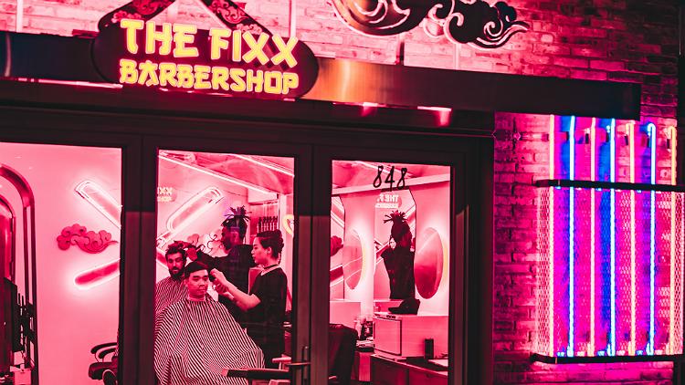 Get a free pair of Chuck Taylors with your haircut this weekend at The Fixx