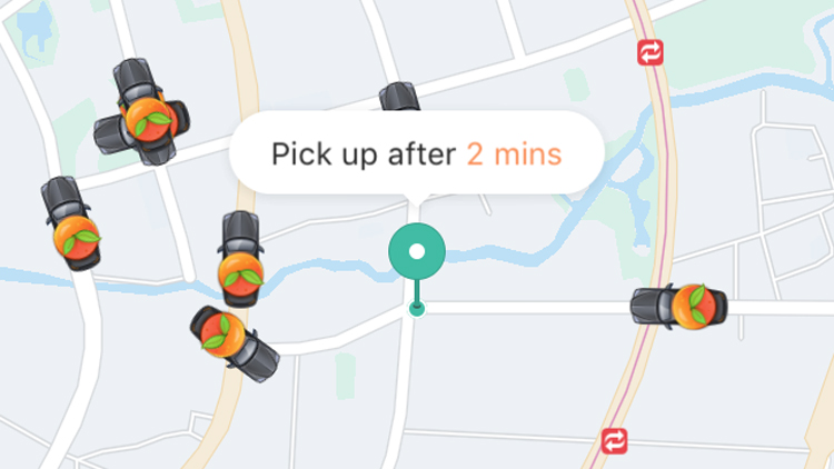 Didi Chuxing unveils a new app for its premier service
