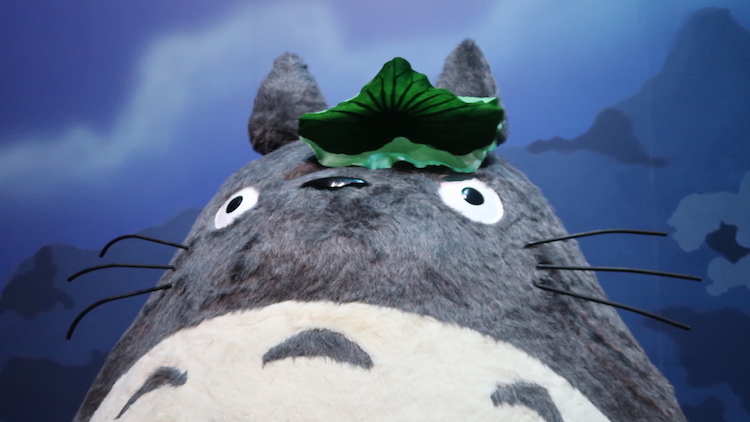 Studio Ghibli opens an official exhibition in Shanghai and it is so kawaii