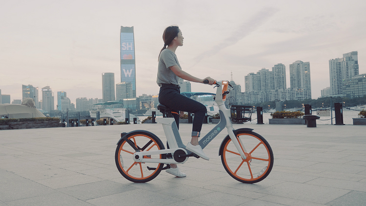 Mobike is rolling out a new fleet of electric bikes