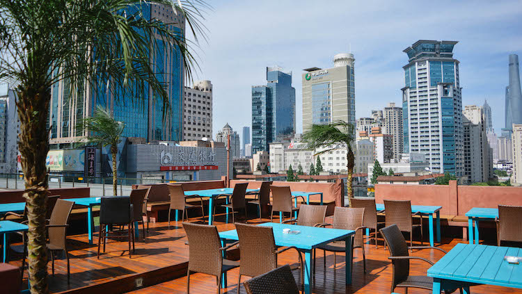 Shanghai's best al fresco happy hours