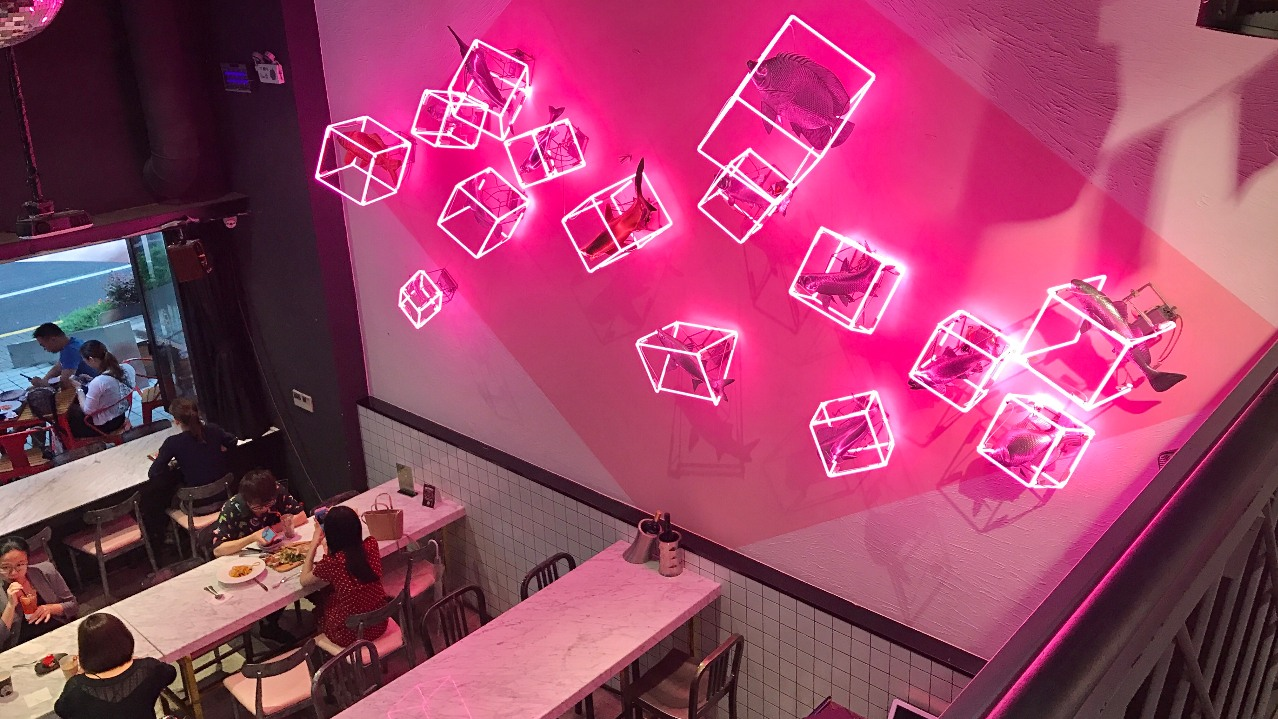 The best pink cafés in Shanghai
