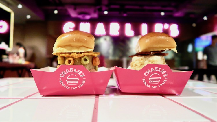 Chill out with these ice cream burgers from Charlie's