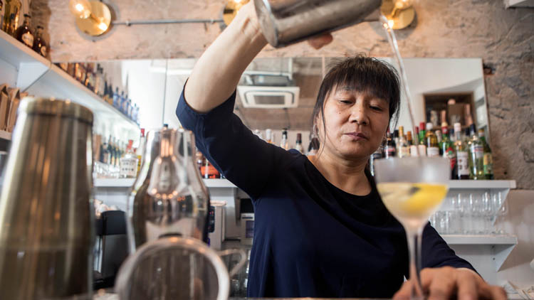 Meet the woman who went from Beijing housecleaner to Shanghai bartender