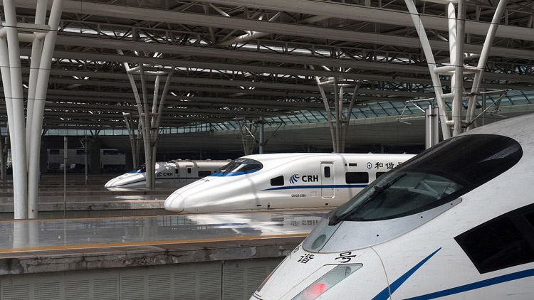 Paperless tickets are coming for China's high-speed trains in 2019