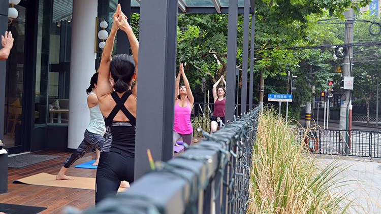The Sun Salutation: Yoga and Brunch