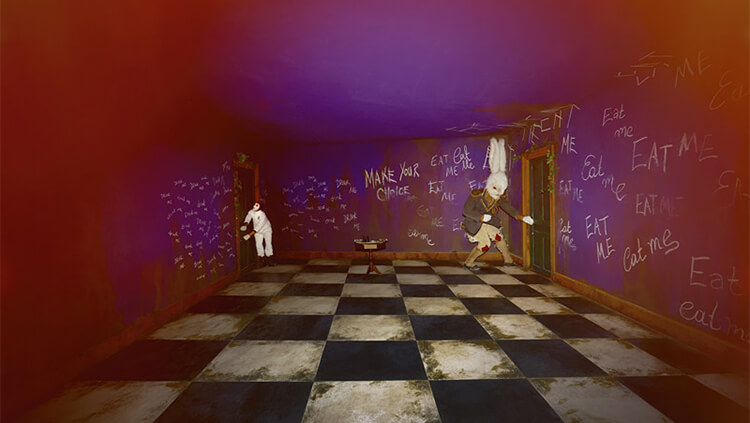 An immersive 'Alice in Wonderland' theatre adaptation is playing in Shanghai