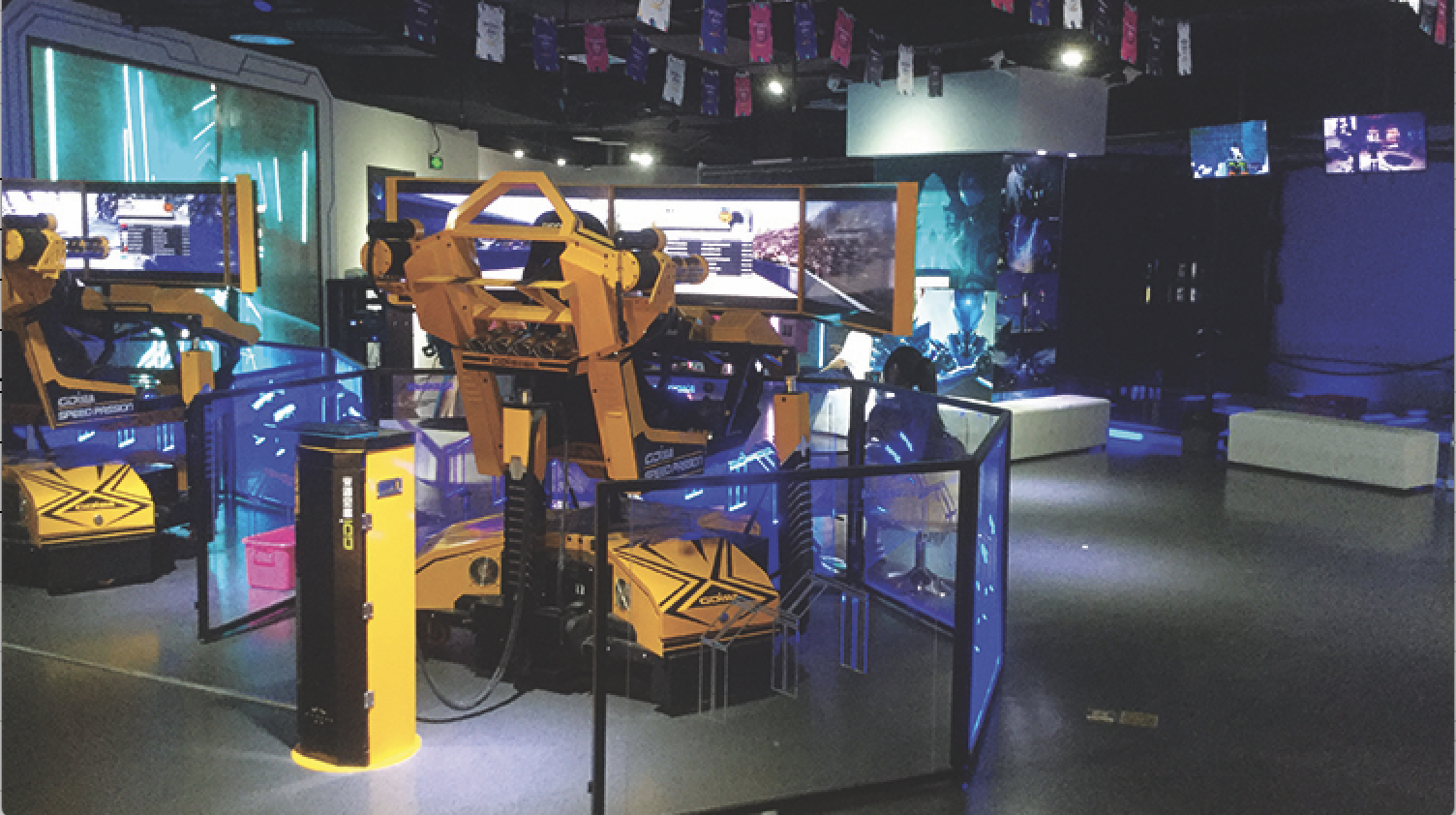 The best virtual reality arcades and game rooms in Shanghai