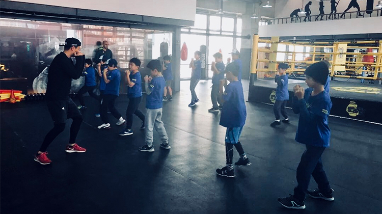 So you wanna be a boxer? Golden Gloves launches a new kids' camp