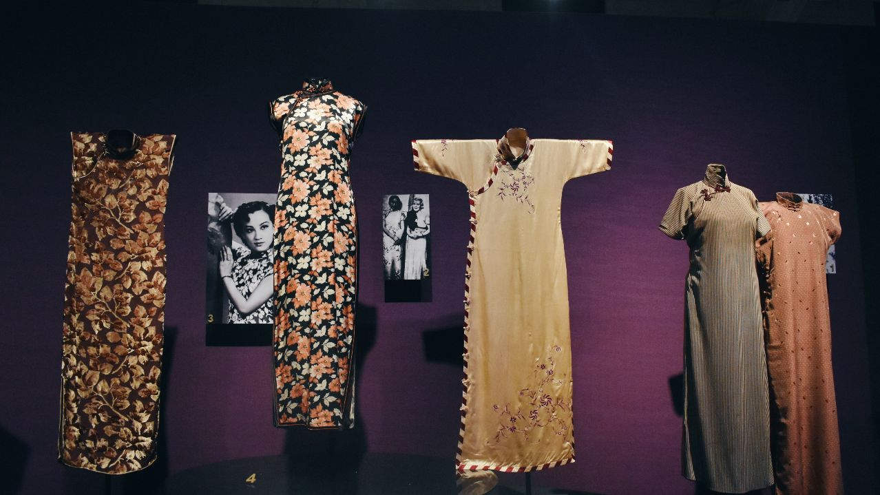 This cool, new (and free) exhibition tours you through the history of the qipao