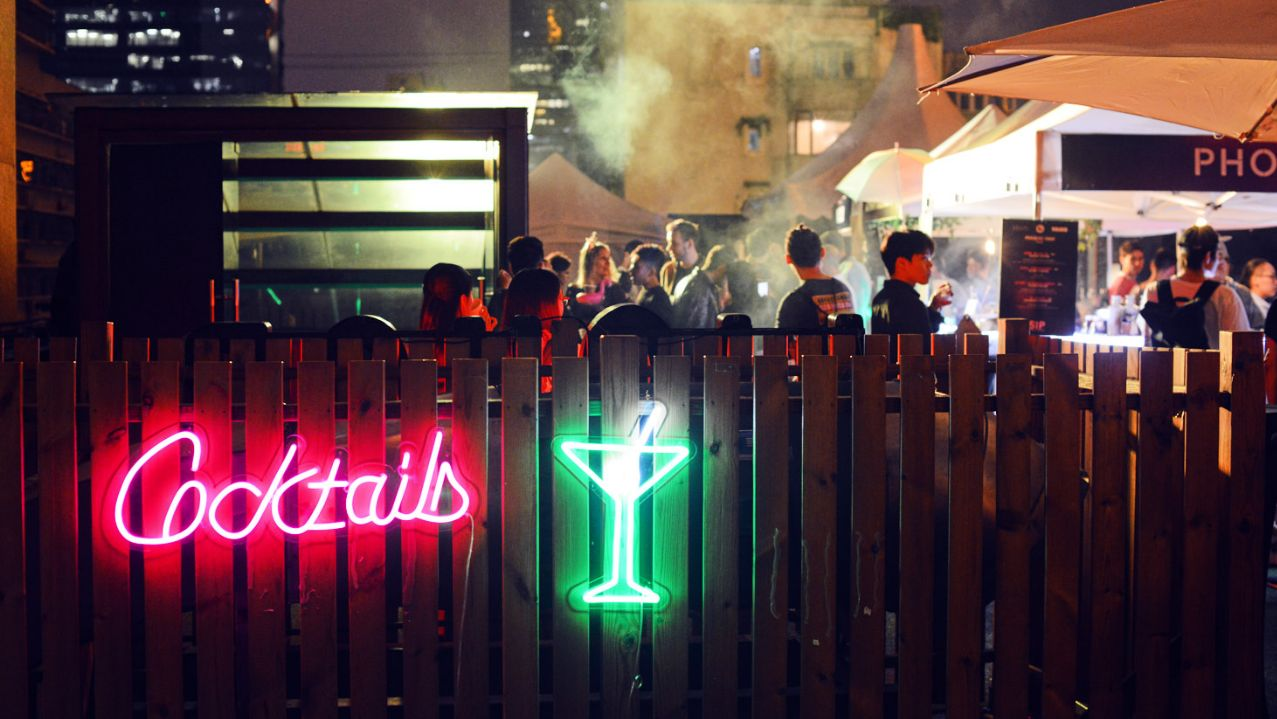 Cocktail festival SIP is happening on Changle Lu this weekend