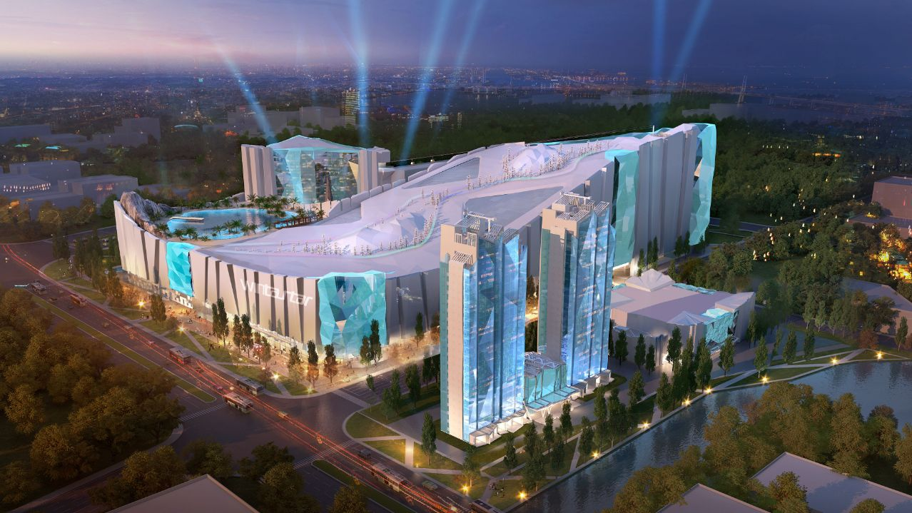 The world's largest indoor ski resort is coming to Shanghai