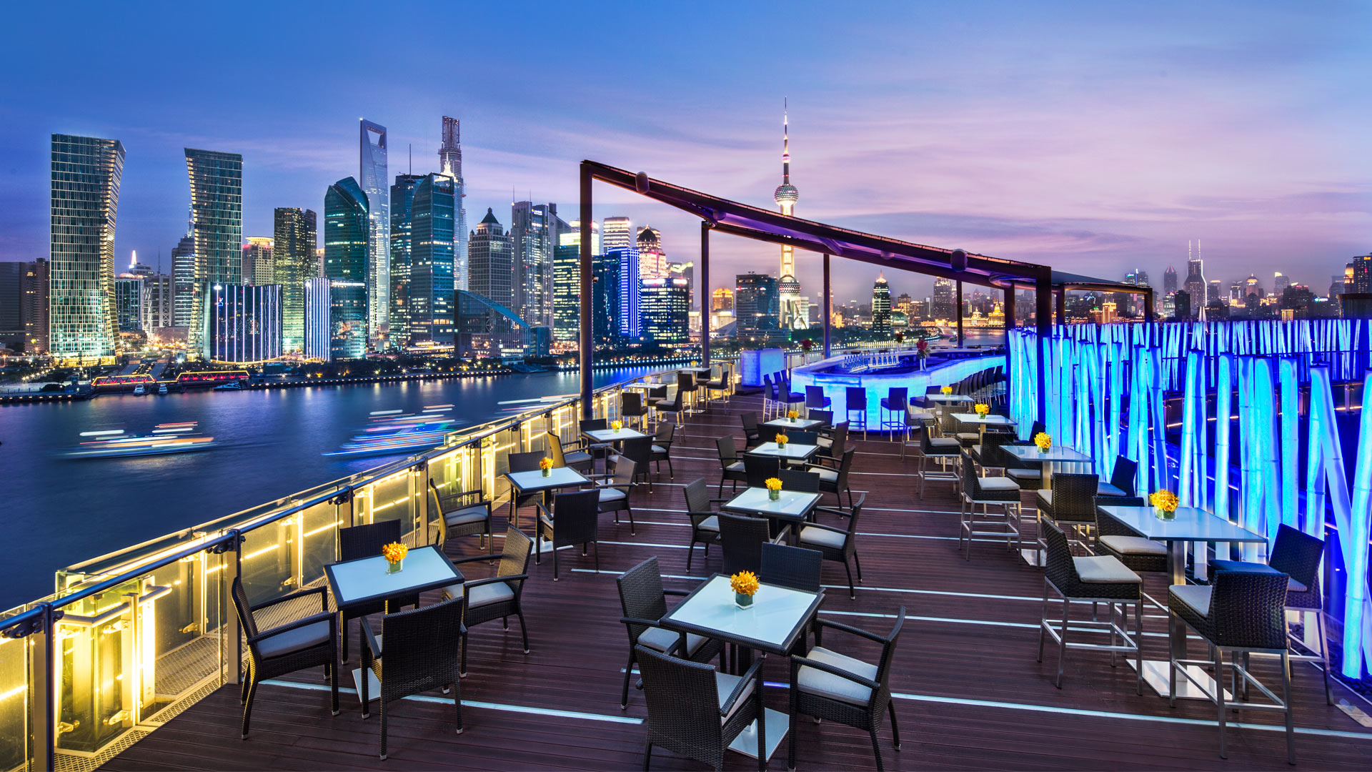 The best rooftop bars in Shanghai