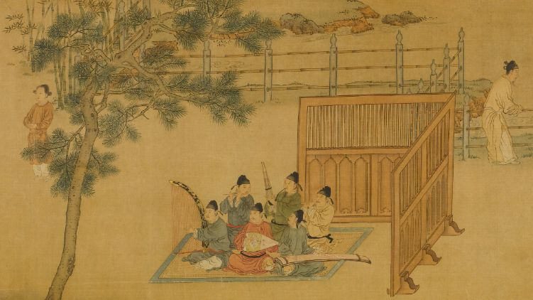 The Sound of Ancient Time: Guqin of Tang and Song Dynasty and Artworks on Elegant Pursuits of the Literati from the Long Collection