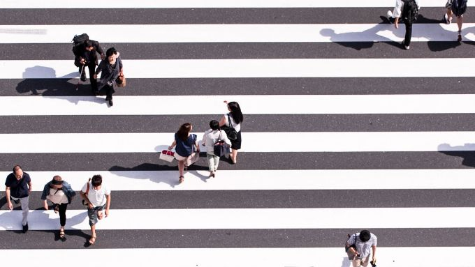 Over 21 million people took under 100 steps a day in Golden Week