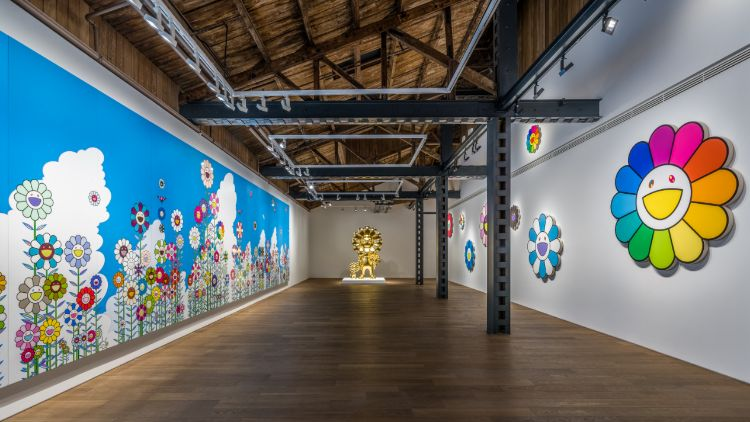Takashi Murakami in Wonderland