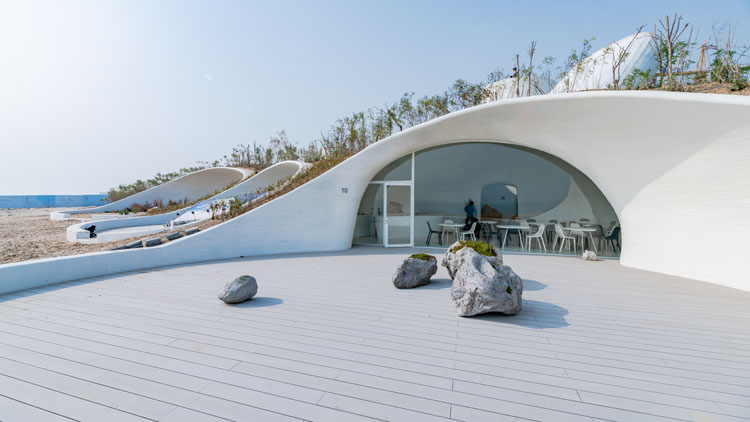 City envy: Beijing's UCCA has opened an art museum in a beachside sand dune