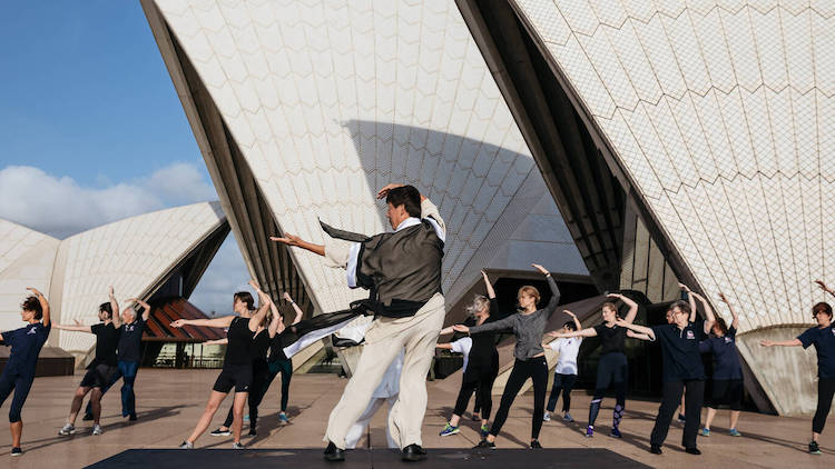 Tai Chi at the Sydney Opera House