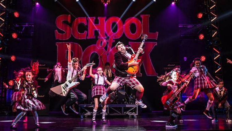 Win a pair of tickets to School of Rock the Musical