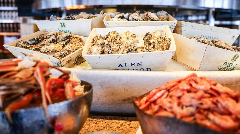 Mother's Day Seafood Brunch at the Grand Hyatt