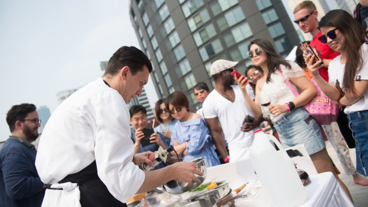 Win a pair of tickets for rooftop food fest FEAST this weekend