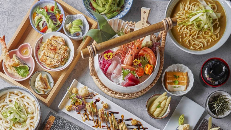 Kobachi Lunch Set for two