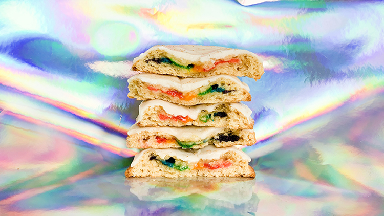 Strictly Cookies is selling rainbow cookies for ShanghaiPRIDE