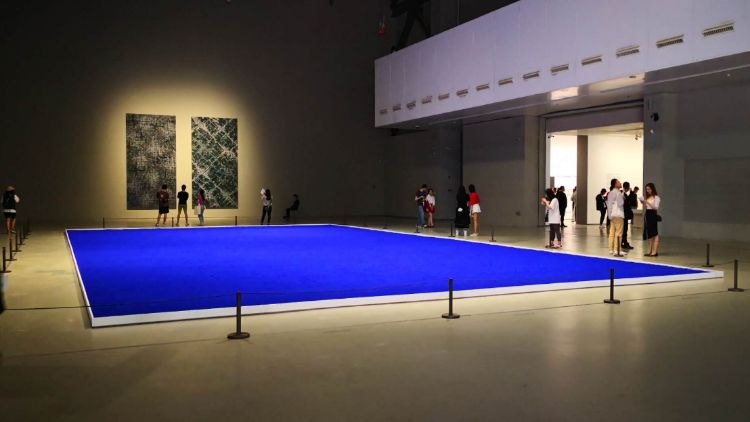 The Challenging Souls: Yves Klein, Lee Ufan, Ding Yi