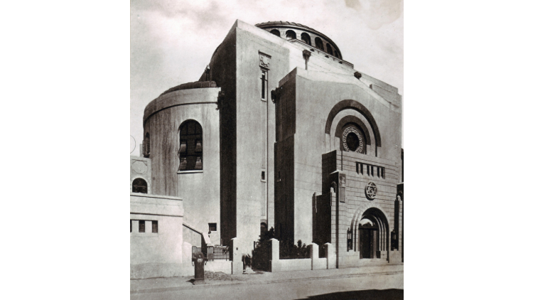 An art deco synagogue
