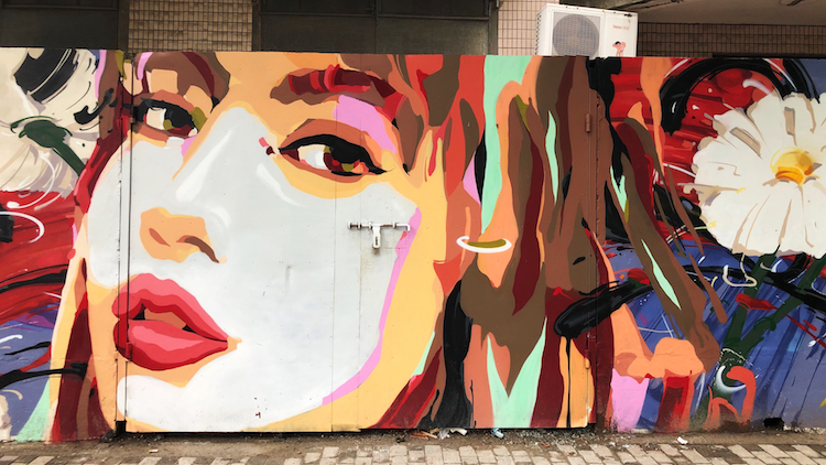 In photos: the best places to see street art in Shanghai