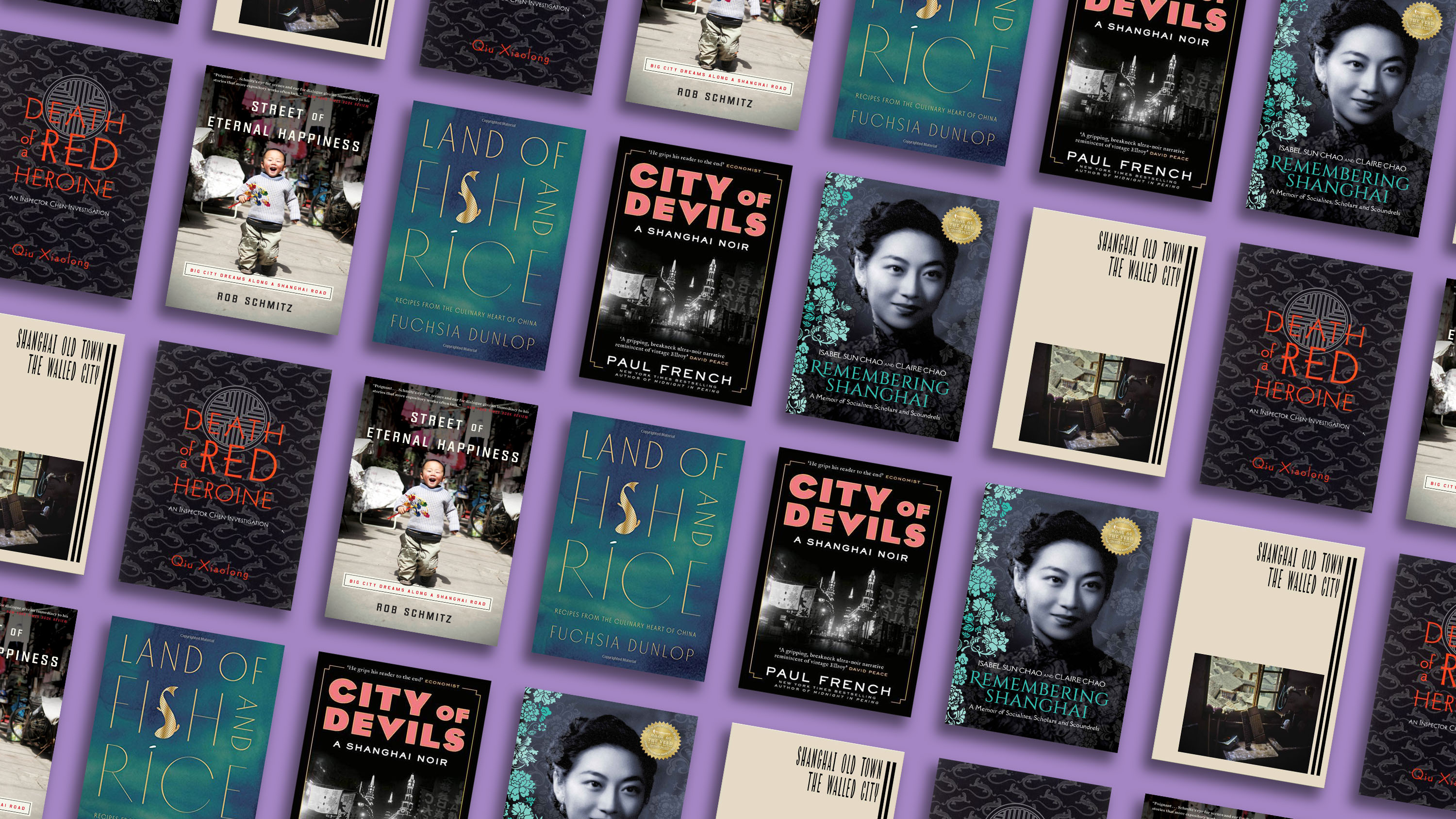 6 essentials for your Shanghai bookshelf