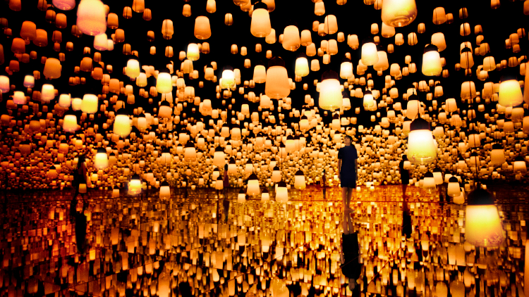 Digital art collective teamLab is opening a permanent museum in Shanghai this autumn
