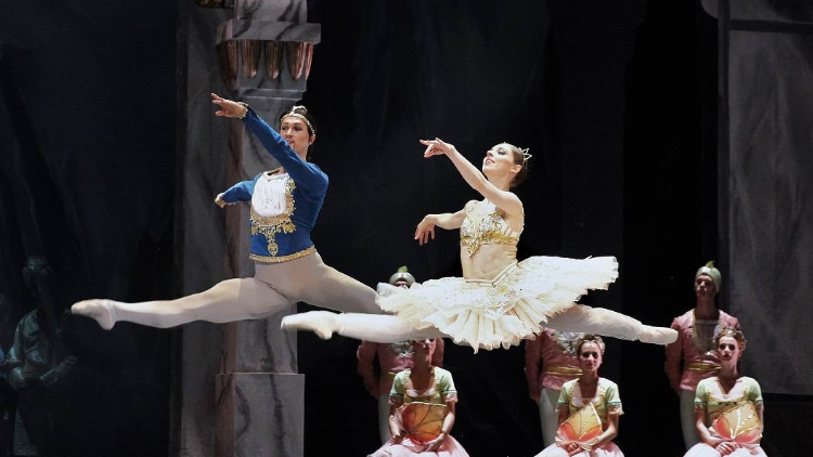 The Czech National Theatre: La Bayadère