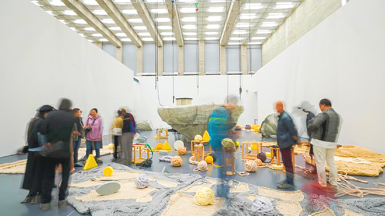 This interactive installation teaches kids about environmental protection