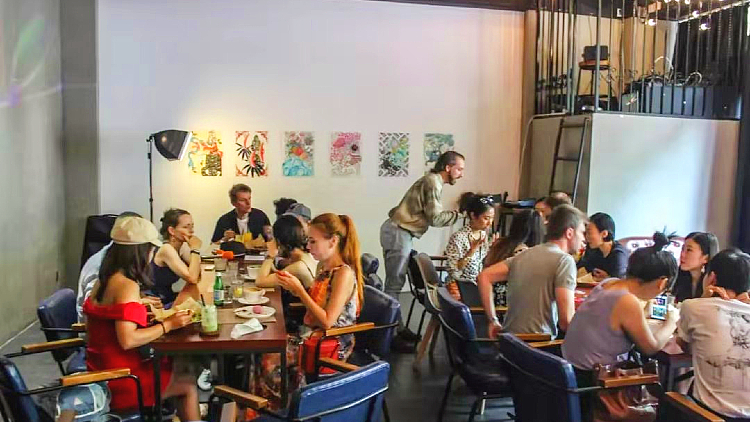 Elevate Art Lunch with Keith Hall