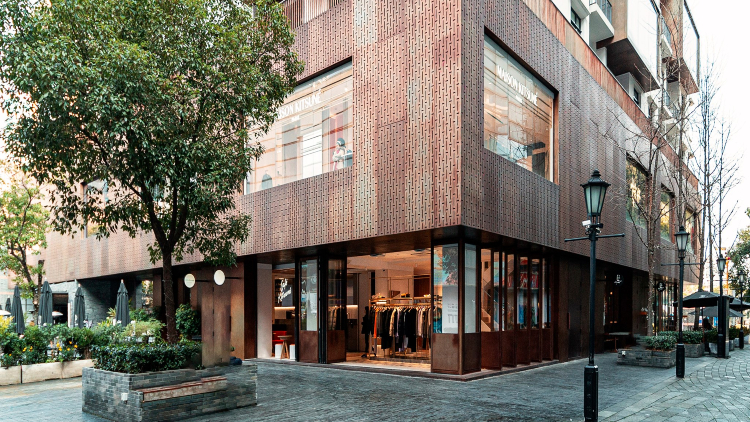Maison Kitsuné's trendy Shanghai flagship is now open