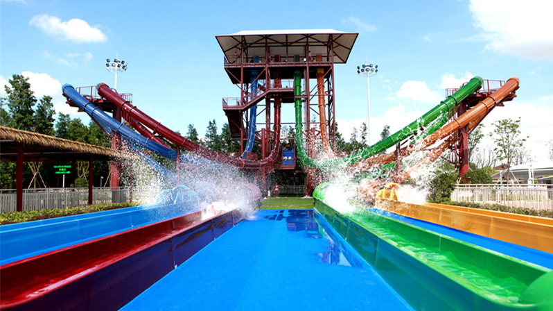 Playa Maya Waterpark just reopened for the summer