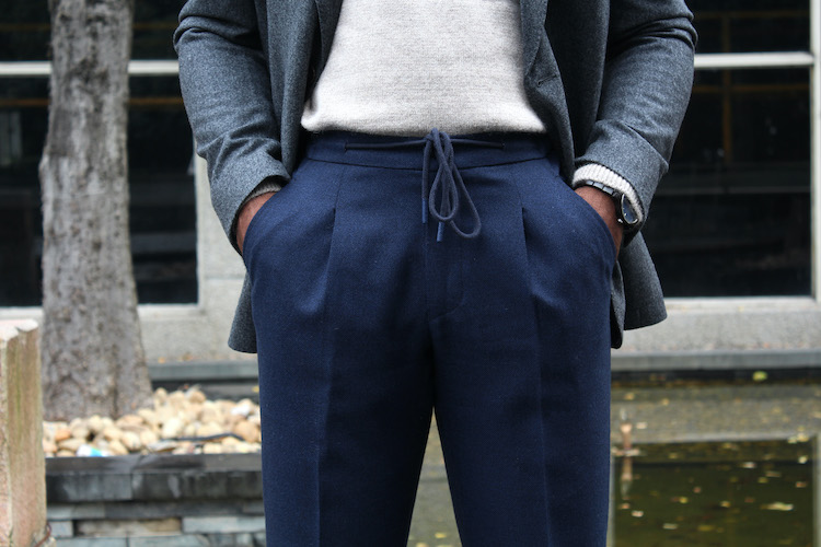 RJ Clothing_儒卓服装 tailored suits Shanghai lounge trousers 2 copy