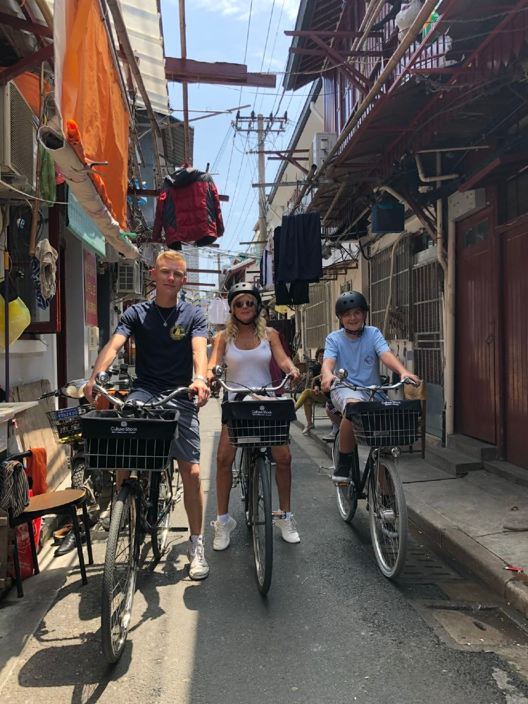 2.used-cycling - courtesy Culture Shock Tours