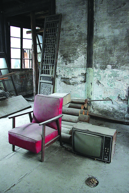 Most rooms have now been abandoned