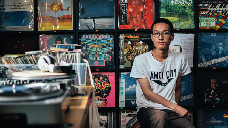Endy Chen: 'We want people to touch vinyl, to learn how to use it'