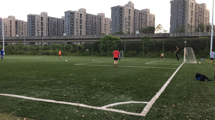 6 great places to play football in Shanghai